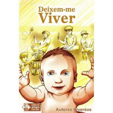 DEIXEM ME VIVER - LIVRETO - (BOLSO)