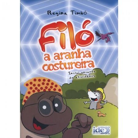 FILO A ARANHA COSTUREIRA - INCLUI ENCARTE DE ATIVIDADES
