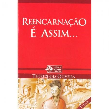 REENCARNACAO E ASSIM ... LIVRETO - (BOLSO)